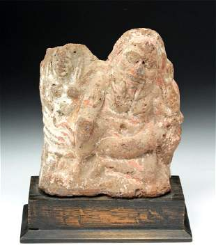 Rare Egyptian Erotic Terracotta of Bes exChristies