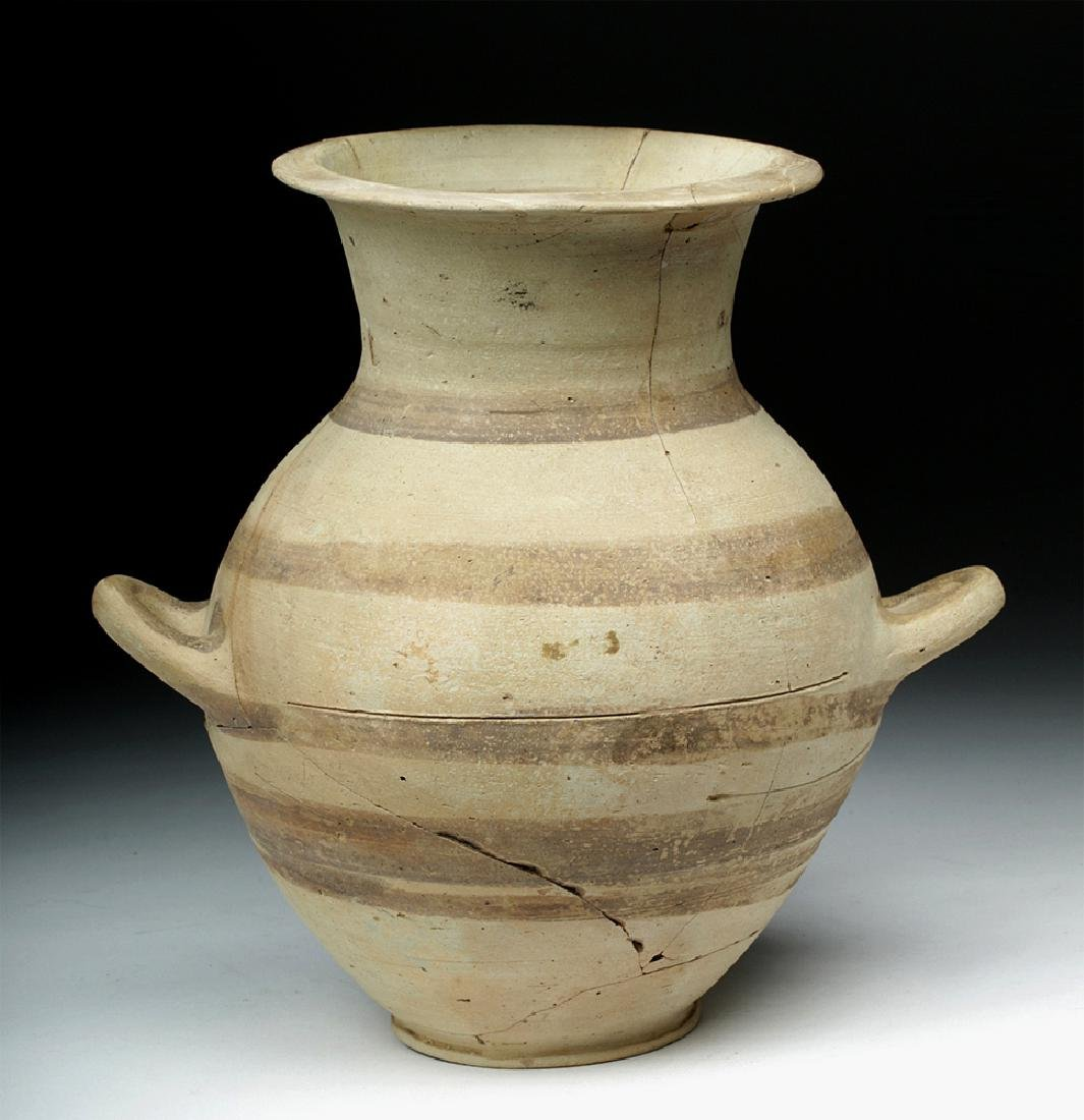 Cypriot Bichrome Pottery Amphora