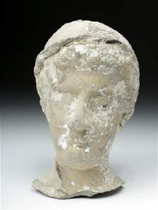 Rare Roman Republic Terracotta Head