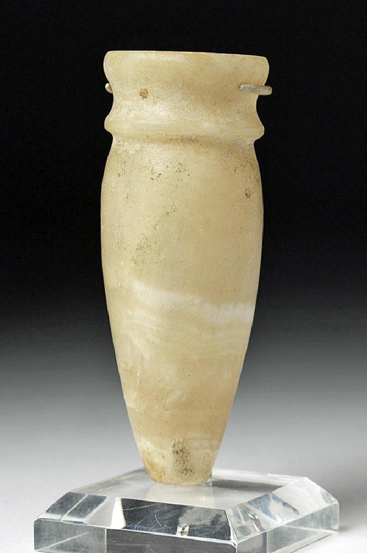 Miniature Egyptian Alabaster Amphora