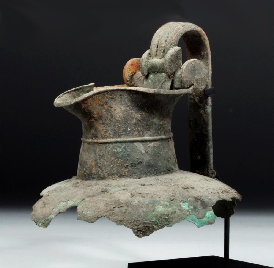 Greek Attic Bronze Oinochoe Section