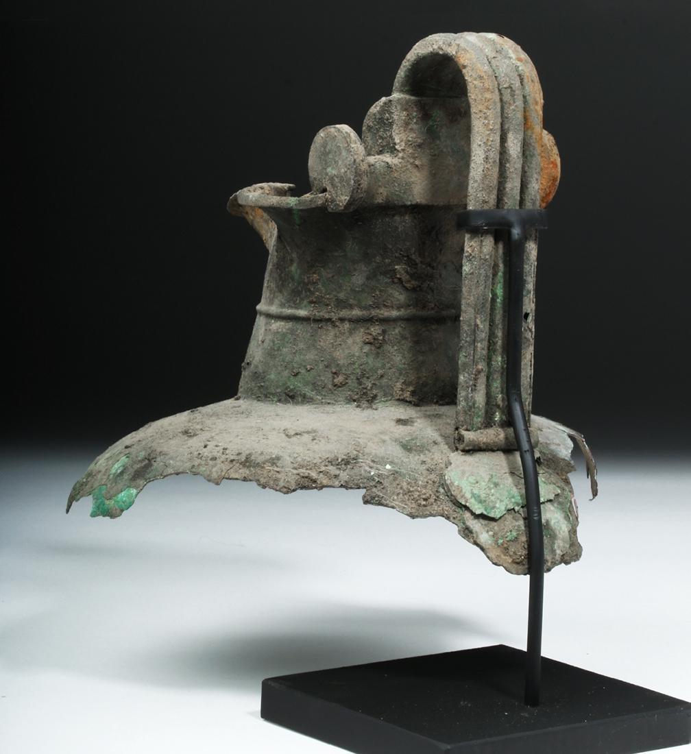 Greek Attic Bronze Oinochoe Section - 3