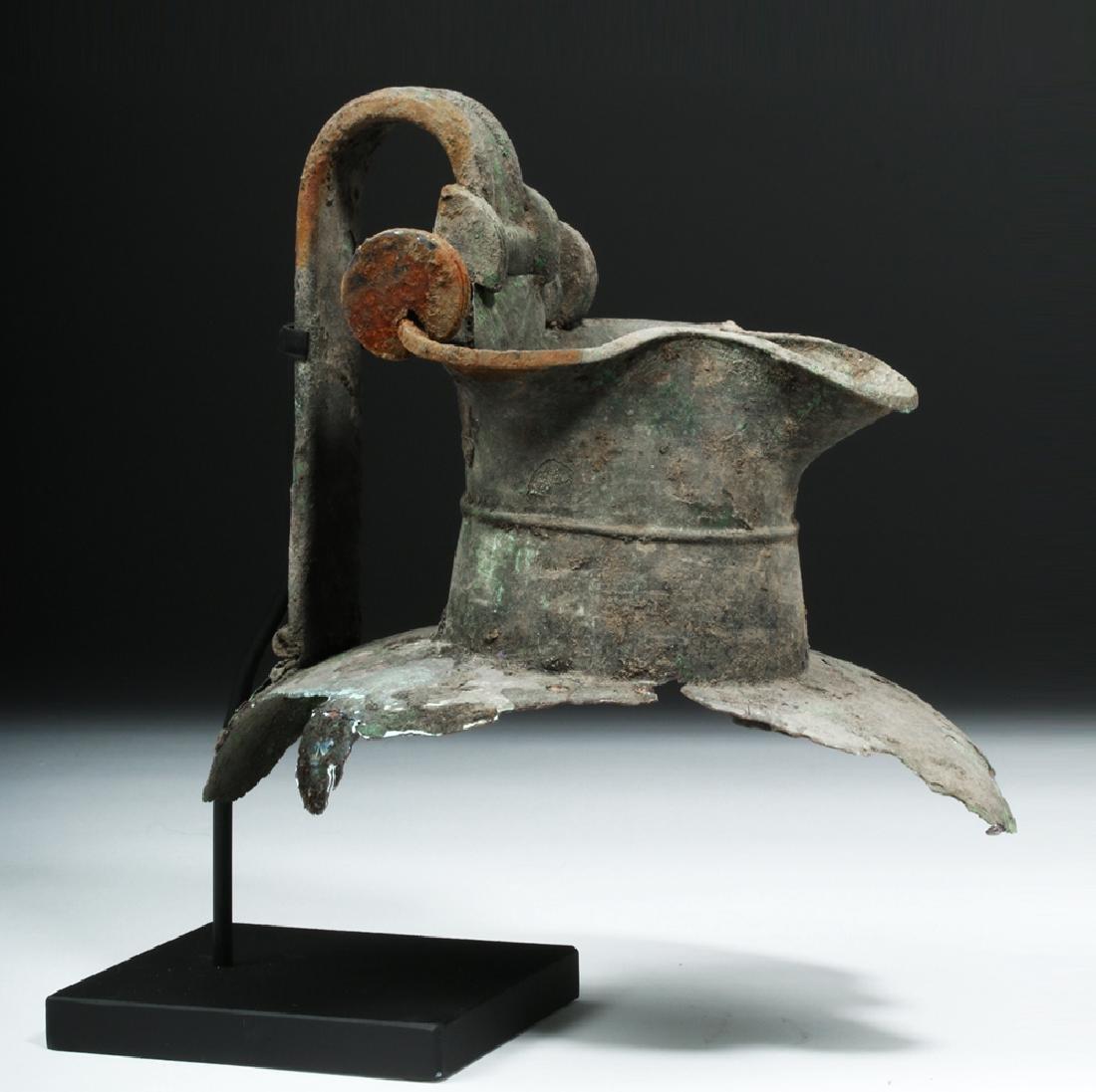 Greek Attic Bronze Oinochoe Section - 5