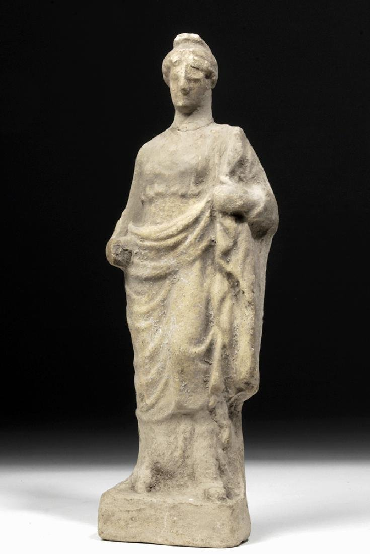 Hellenistic Greek Pottery Votive of Woman