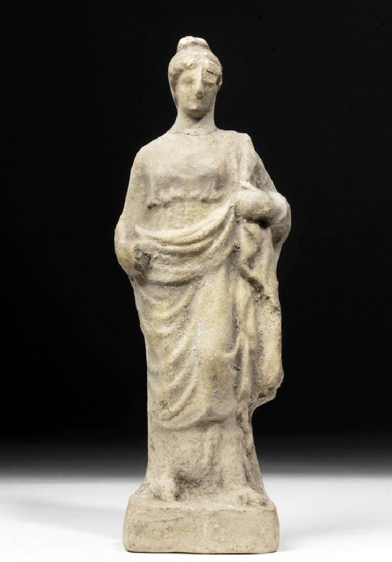 Hellenistic Greek Pottery Votive of Woman - 2