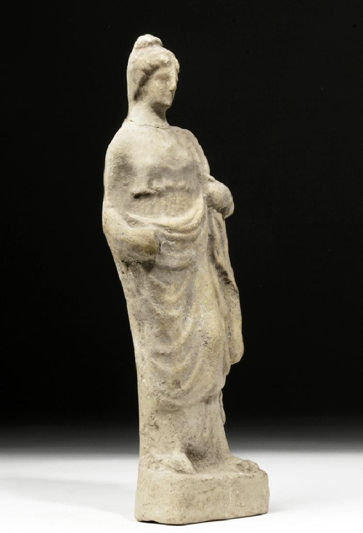 Hellenistic Greek Pottery Votive of Woman - 3