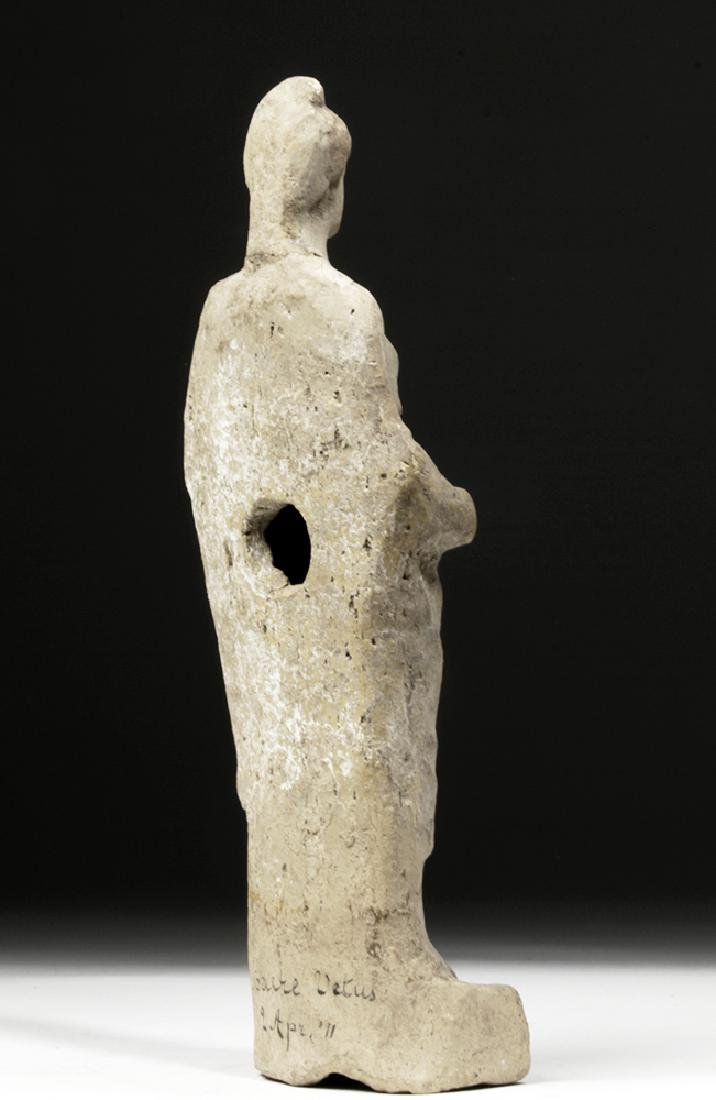 Hellenistic Greek Pottery Votive of Woman - 4