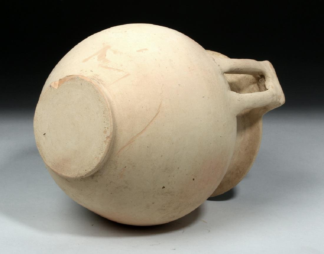 Greek Hellenistic Pottery Column Krater - 7