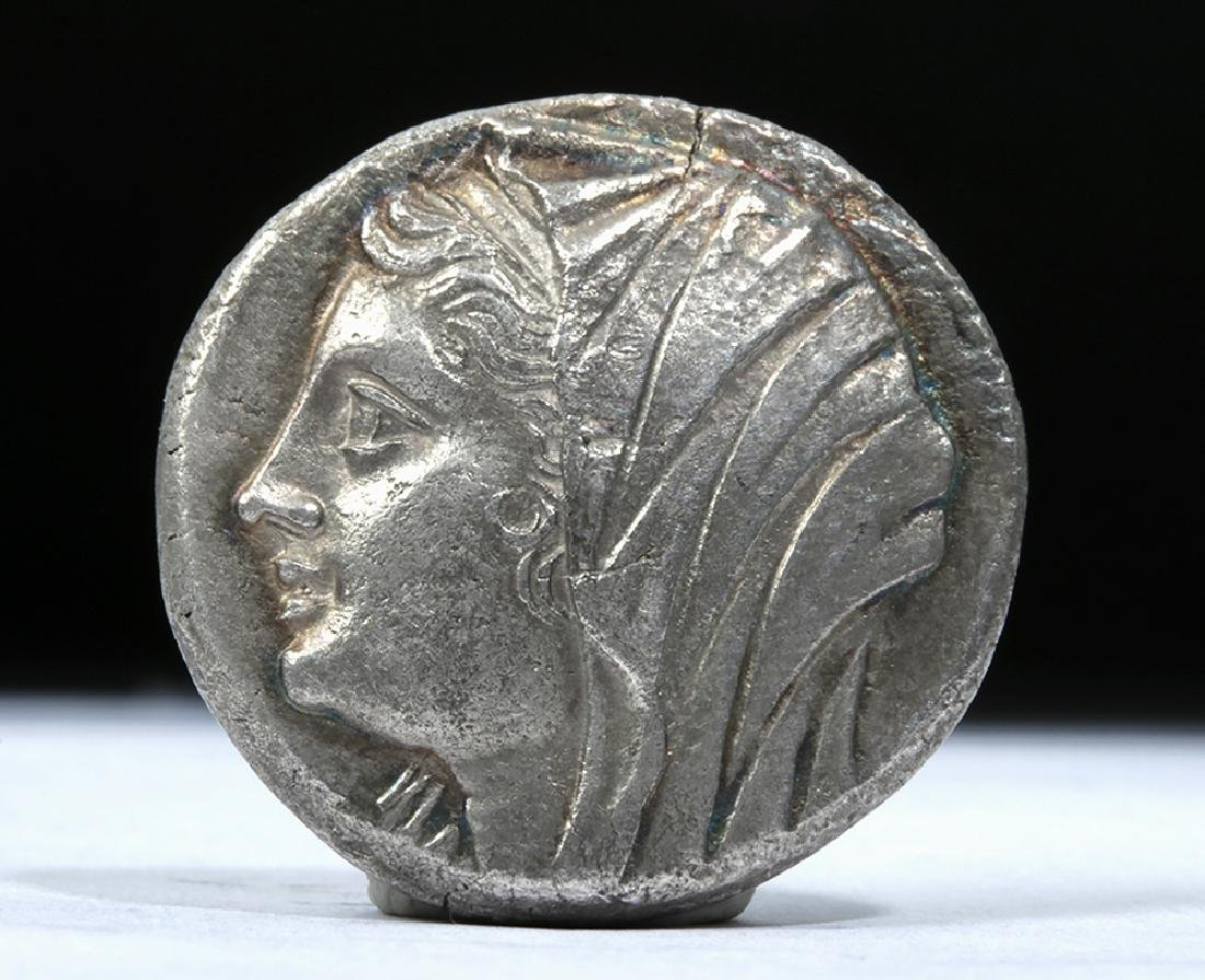 Greek Sicilian Heiron II AR Tetradrachm 269 BCE - 2