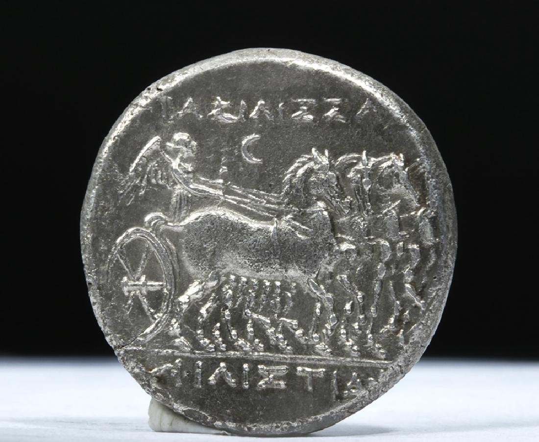 Greek Sicilian Heiron II AR Tetradrachm 269 BCE - 3