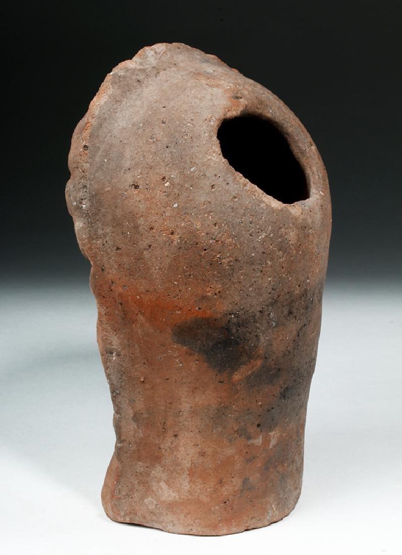 Etruscan Terracotta Votive Head of a Female - 3