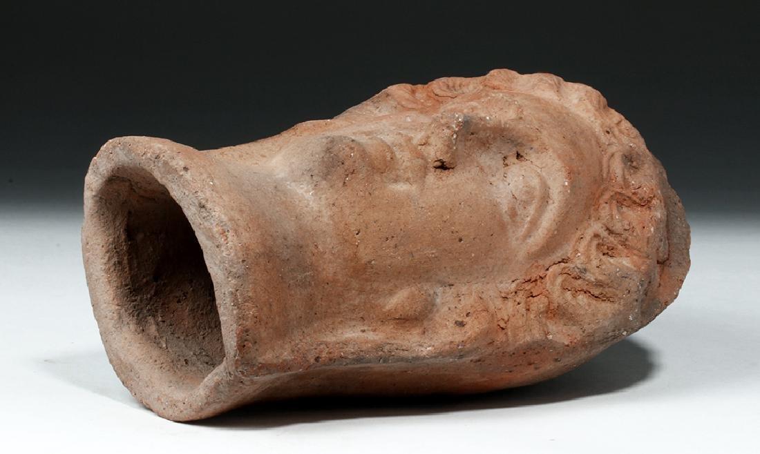 Etruscan Terracotta Votive Head of a Female - 6