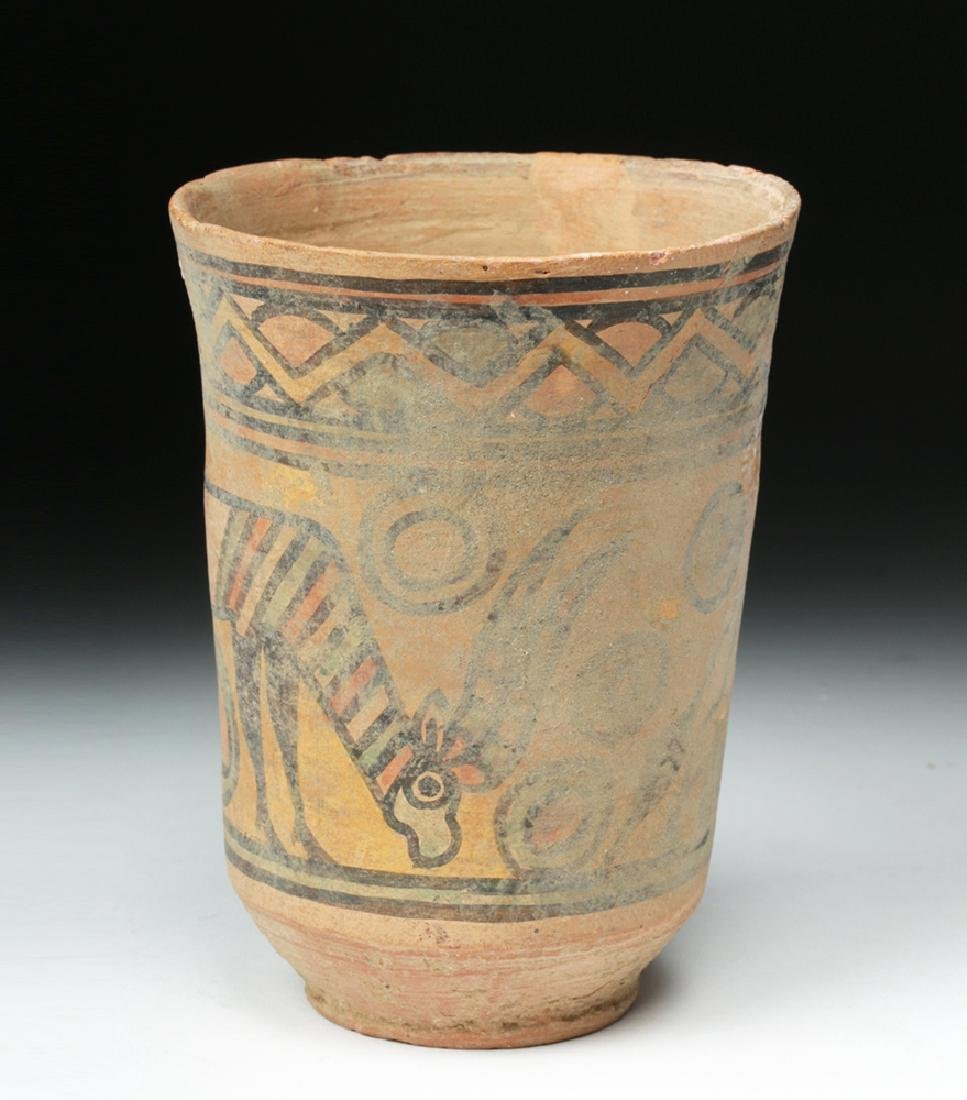 Indus Valley Terracotta Cup - Ibex and Bull - 3