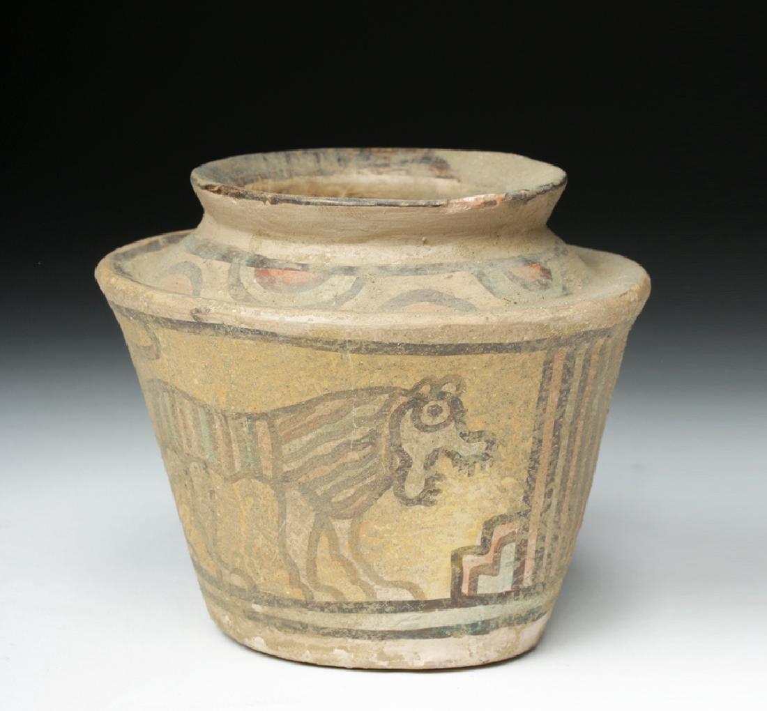 Indus Valley Pottery Polychrome Vessel - 3