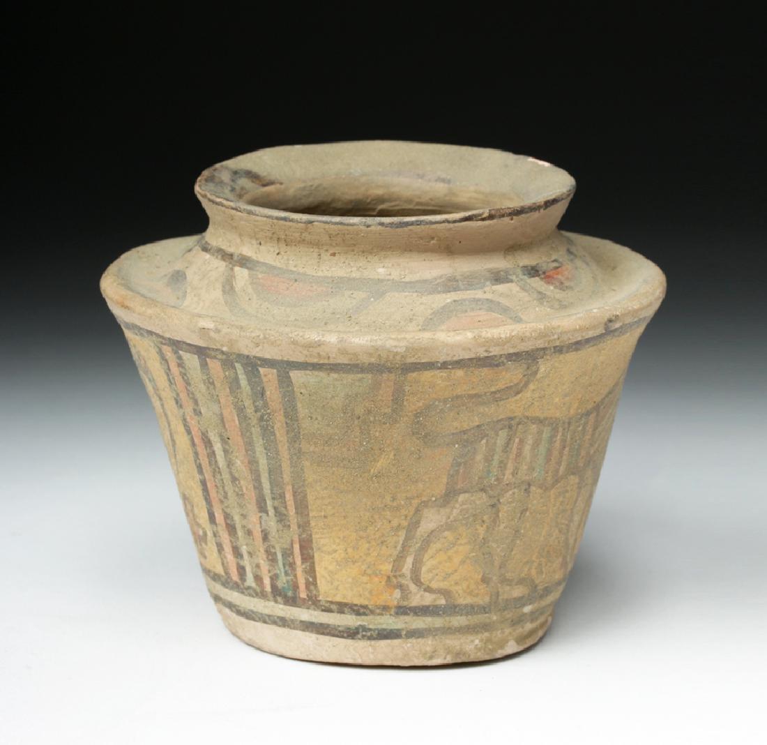 Indus Valley Pottery Polychrome Vessel - 4