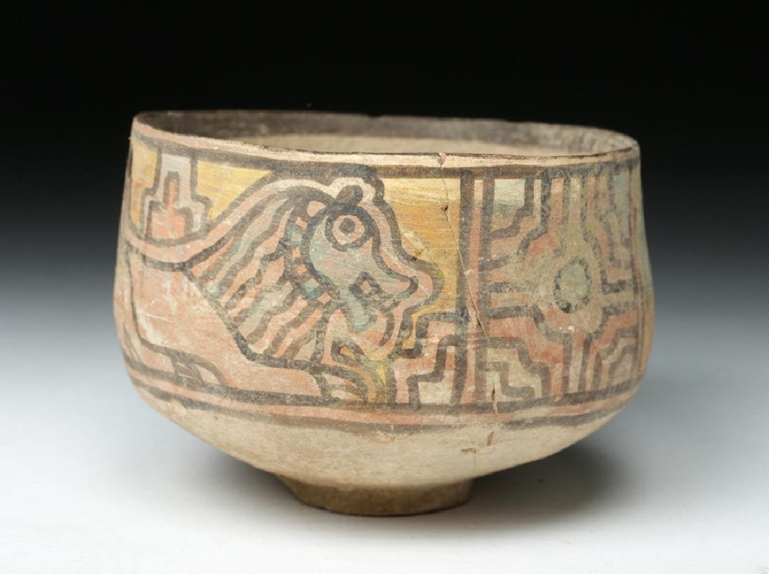 Indus Valley Pottery Bowl w/ Lion & Ibex - 2