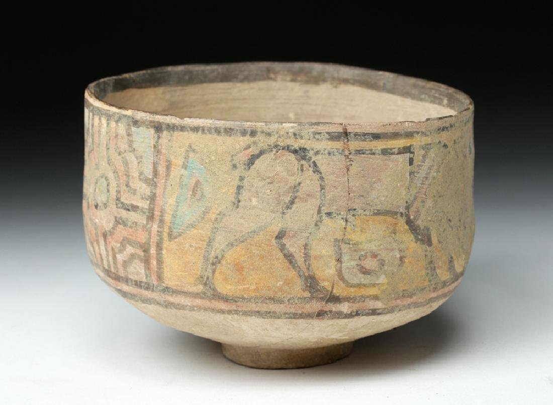 Indus Valley Pottery Bowl w/ Lion & Ibex - 3