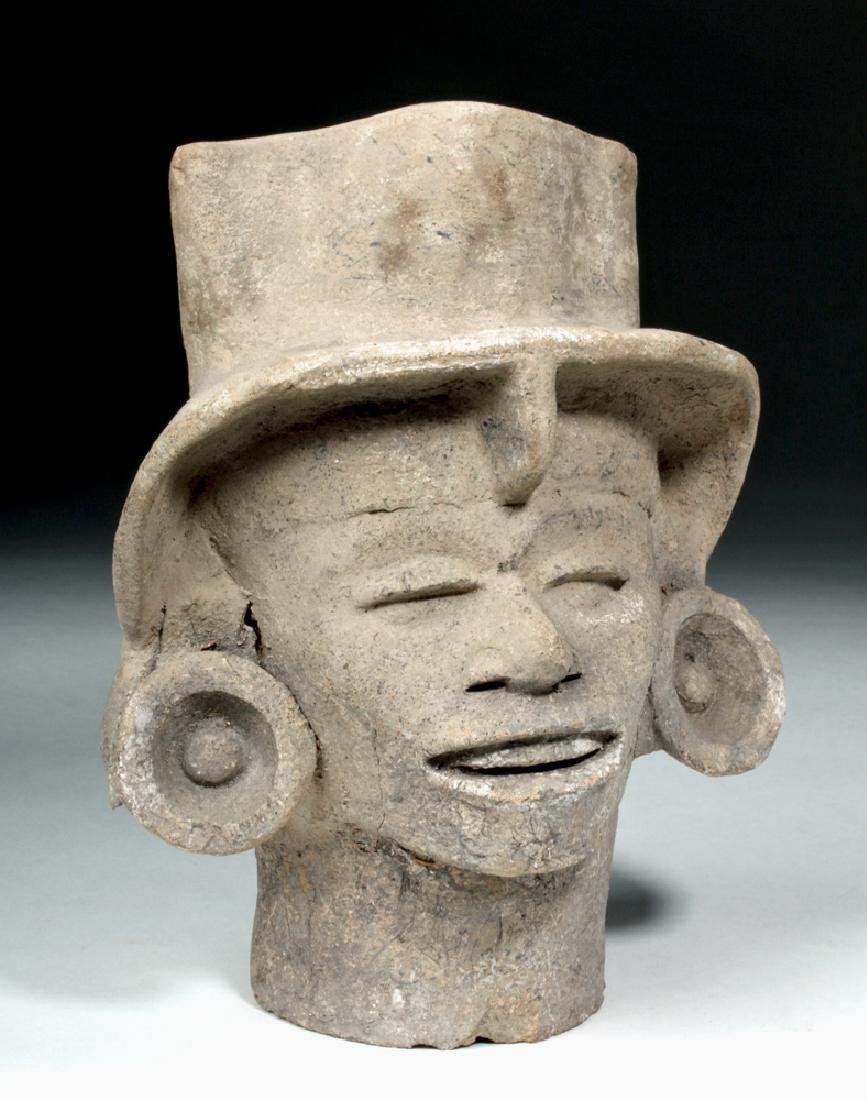 Veracruz Terracotta Head of Elite Person