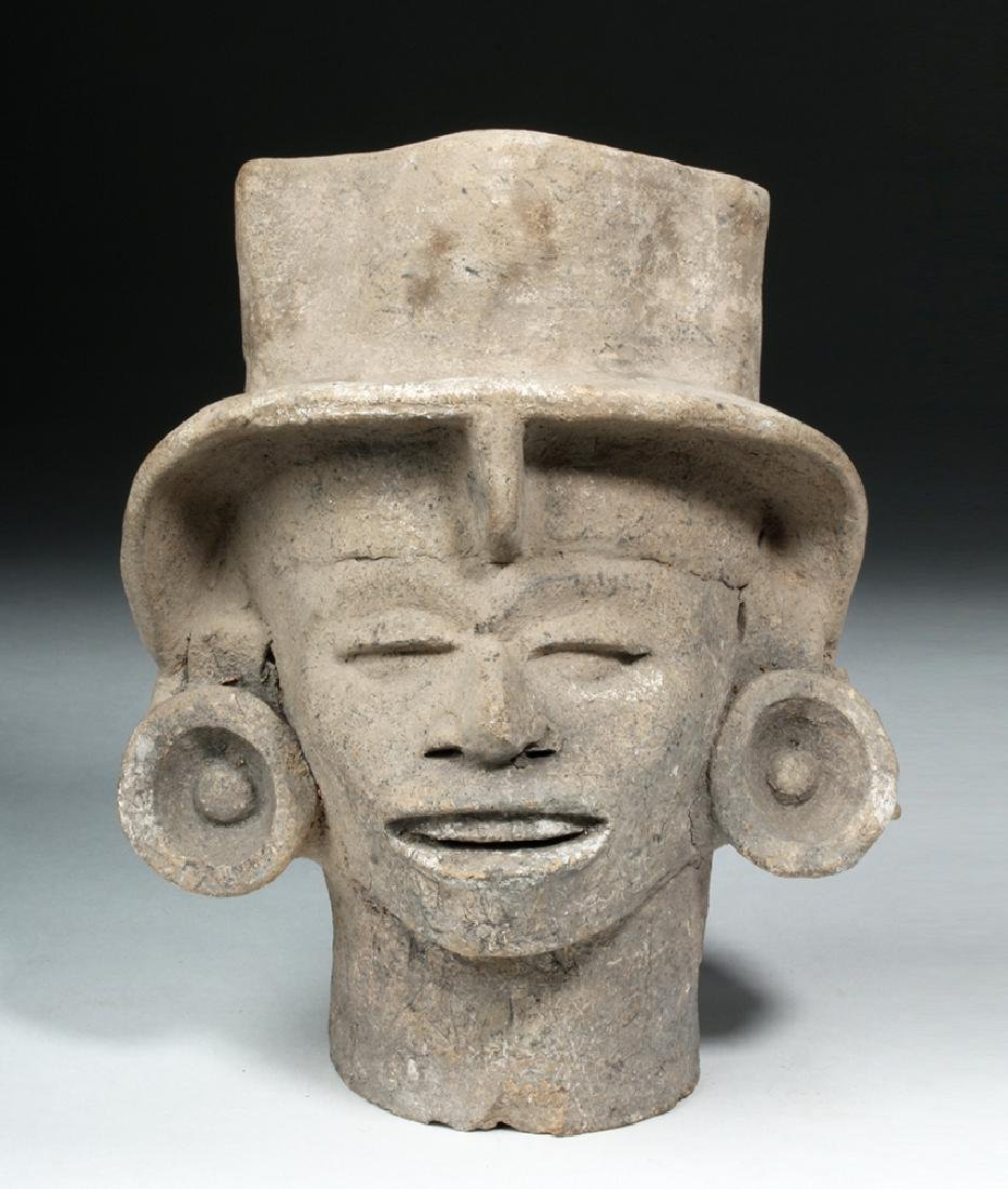 Veracruz Terracotta Head of Elite Person - 2