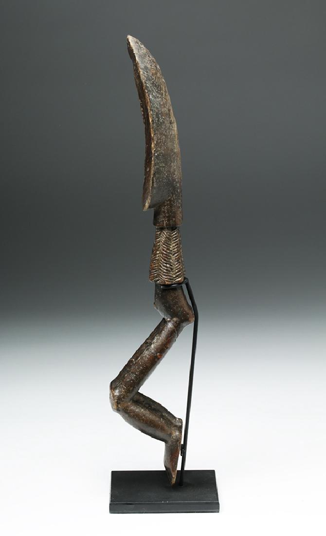 African Wooden Figural Dan Spoon - 3