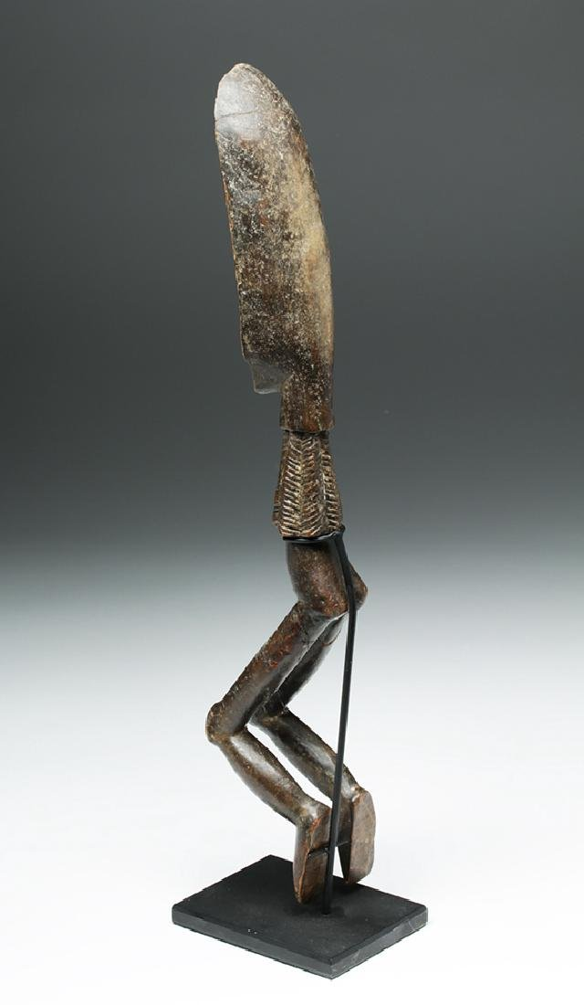 African Wooden Figural Dan Spoon - 4