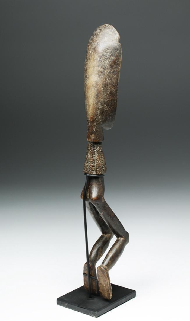 African Wooden Figural Dan Spoon - 5