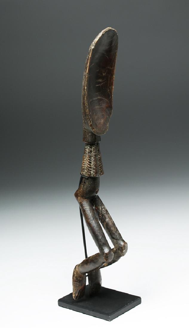 African Wooden Figural Dan Spoon - 6