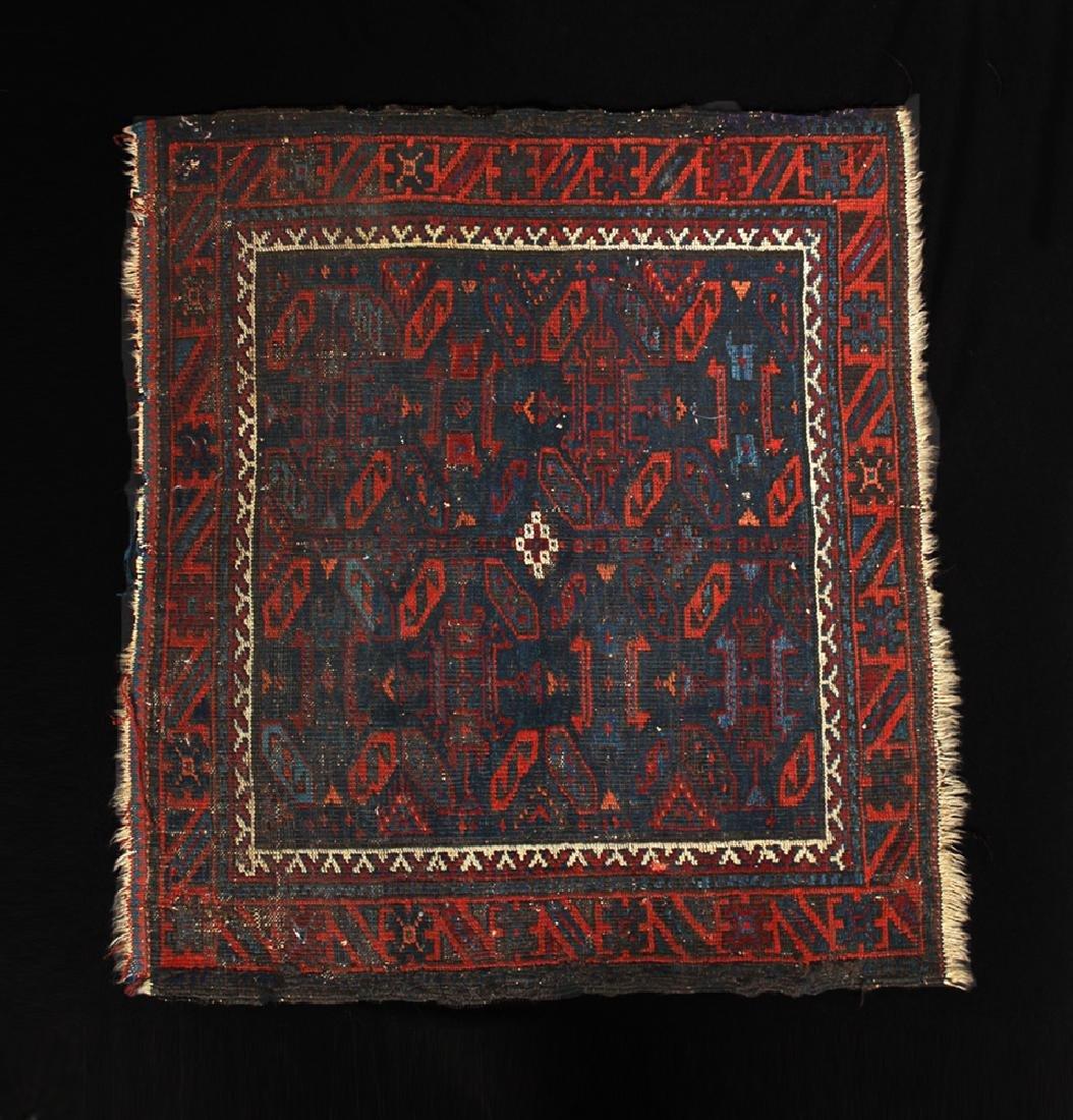 Antique 19th C. Persian Prayer Rug - Ex-Historia