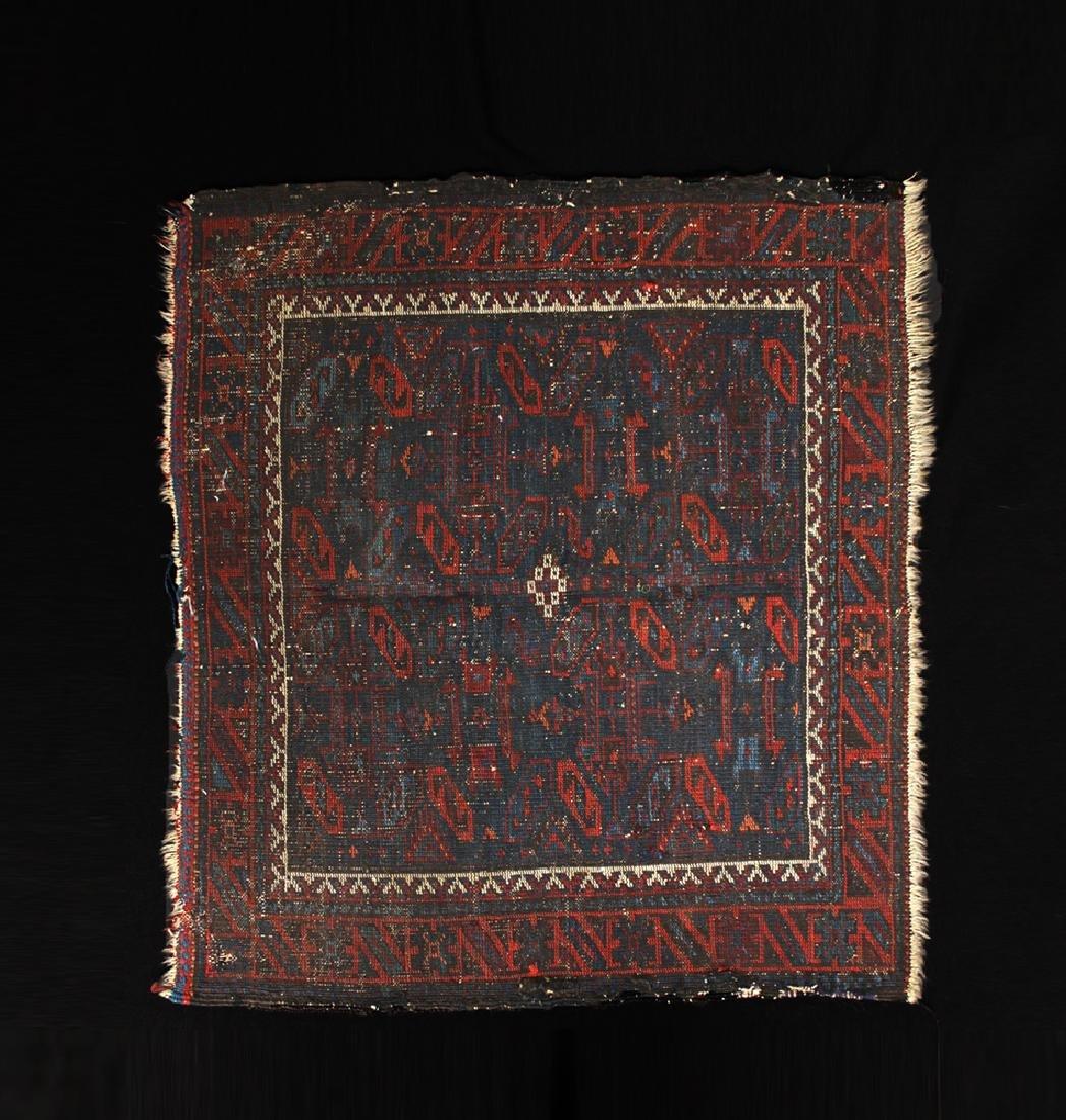 Antique 19th C. Persian Prayer Rug - Ex-Historia - 2