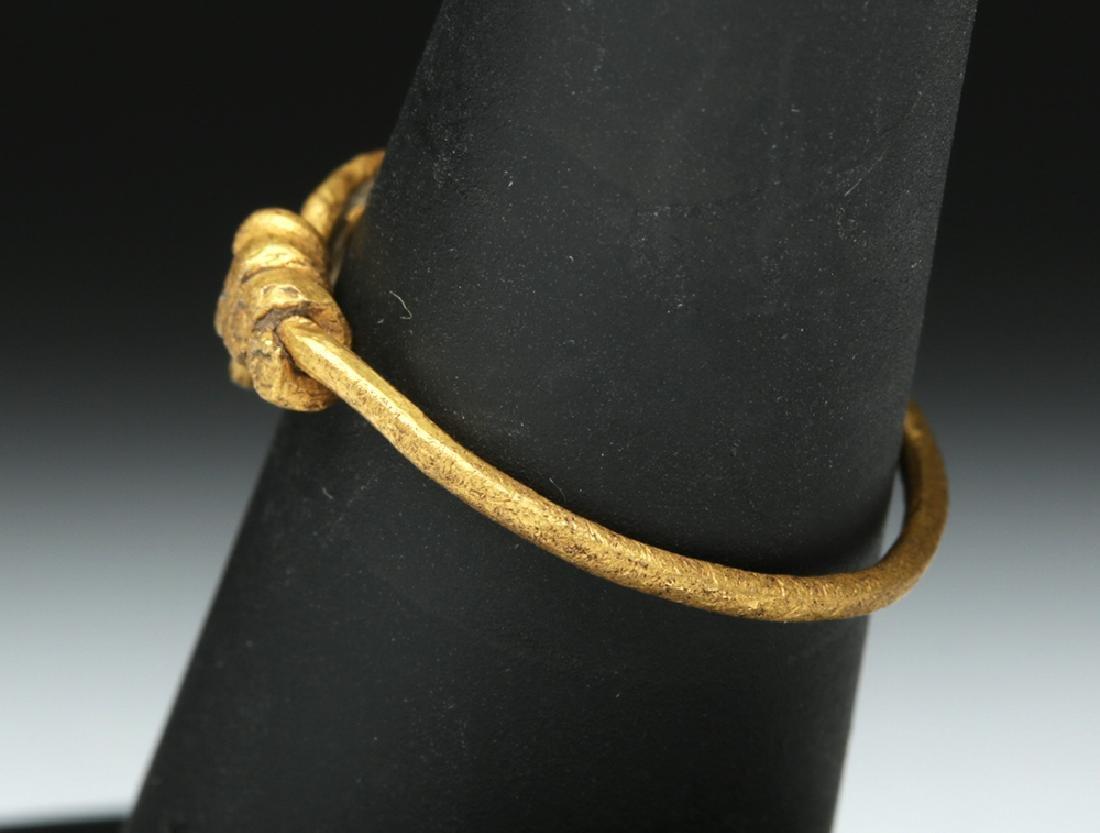 Viking 18K Gold Snake Ring - 4.4 g - 4