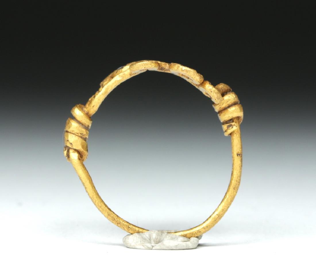 Viking 18K Gold Snake Ring - 4.4 g - 5