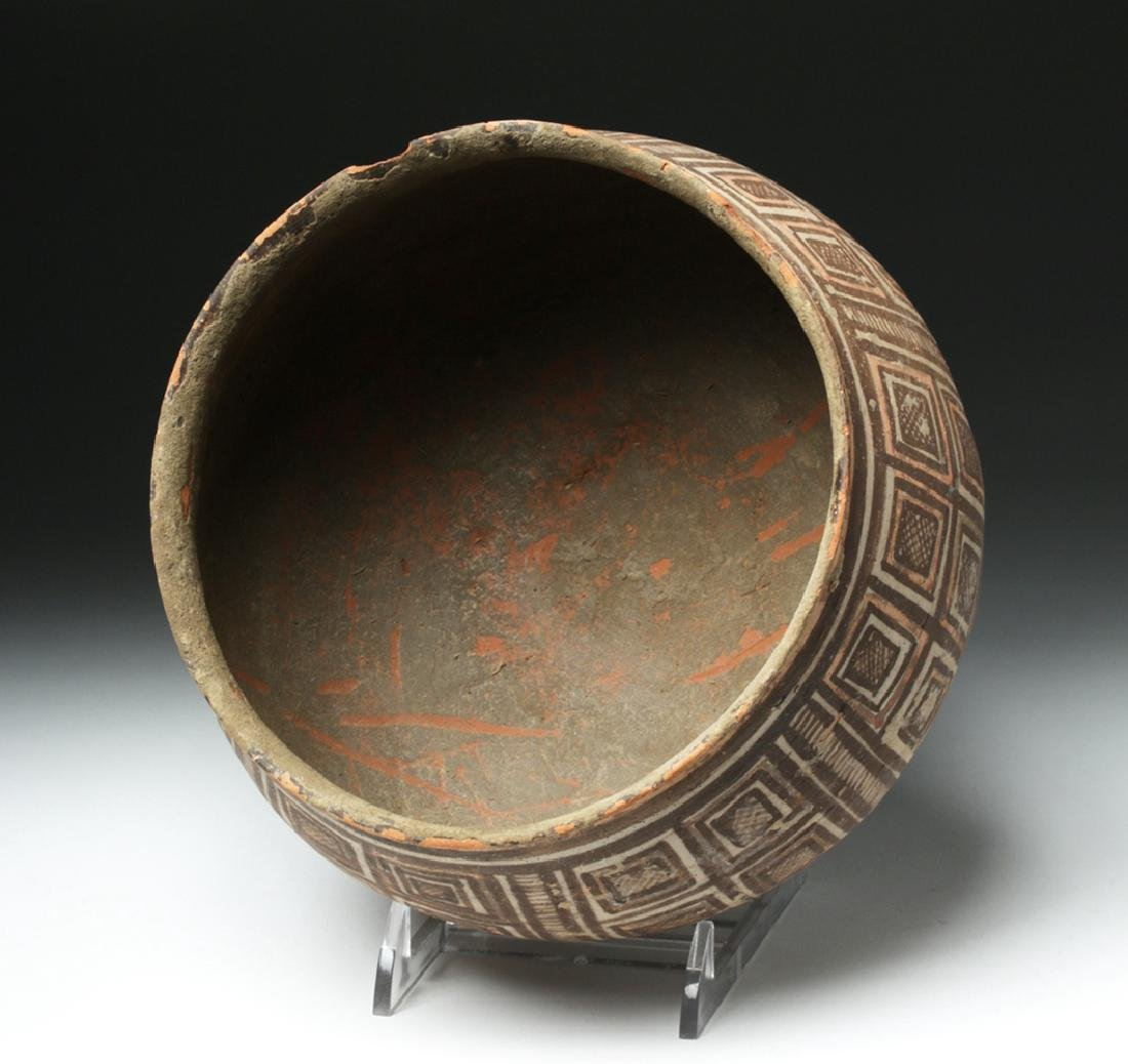 Harappa Indus Valley Geometric Pottery Bowl - 5