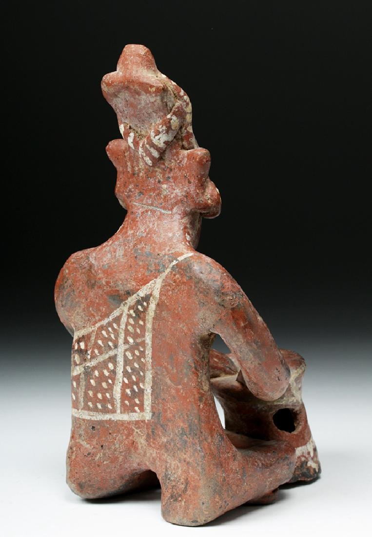Jalisco Pottery Sheepface Seated Drummer - Six Fingers - 4