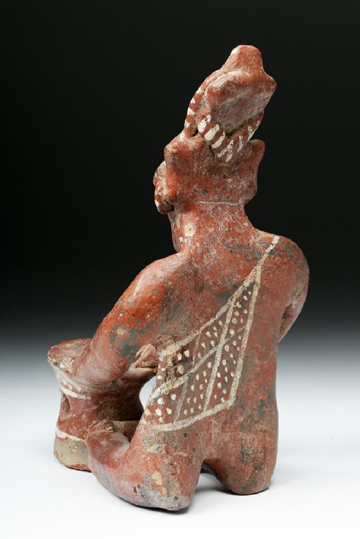 Jalisco Pottery Sheepface Seated Drummer - Six Fingers - 5