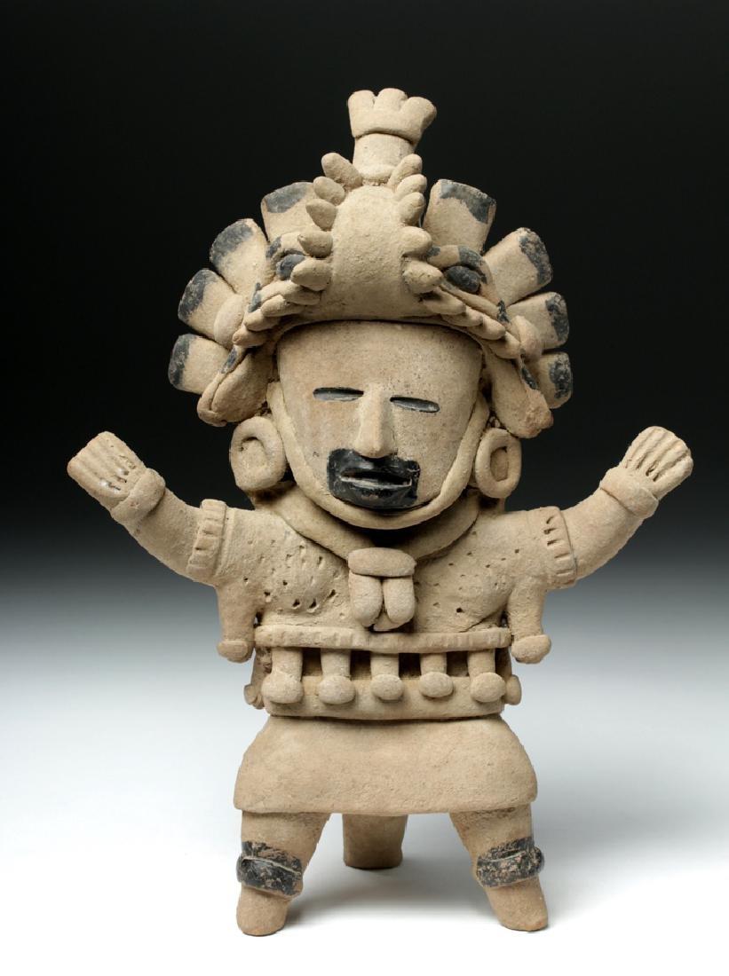 Superb Veracruz Pottery Standing Woman
