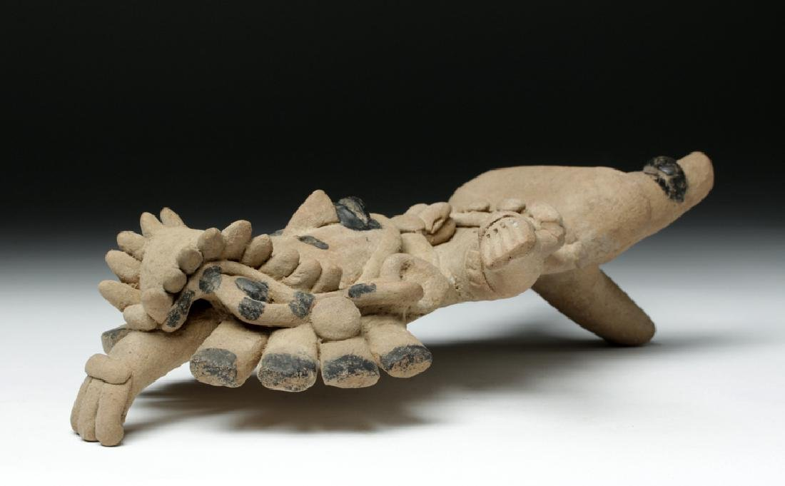 Superb Veracruz Pottery Standing Woman - 7