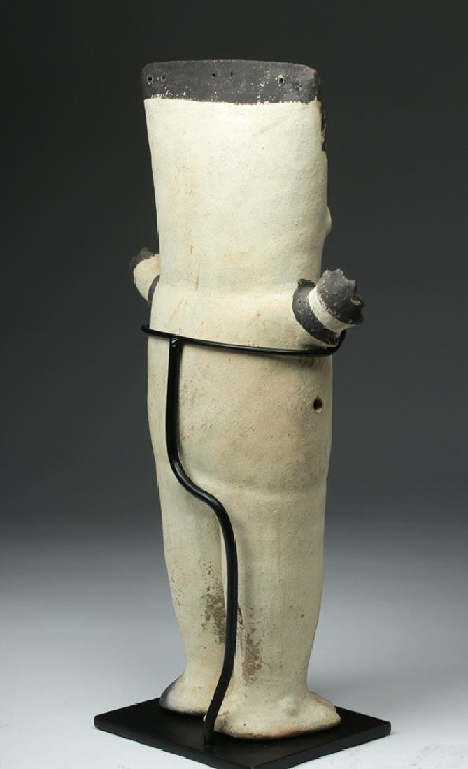 Large Chancay Bichrome Cuchimilco Standing Figure - 5