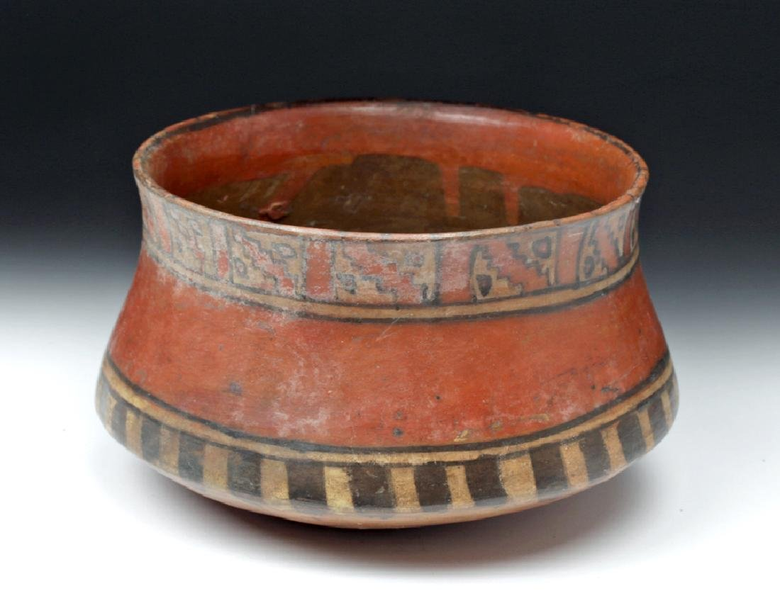 Ica Pottery Polychrome Bowl - Ex-Harmer Rook