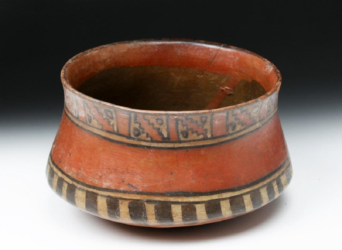 Ica Pottery Polychrome Bowl - Ex-Harmer Rook - 2