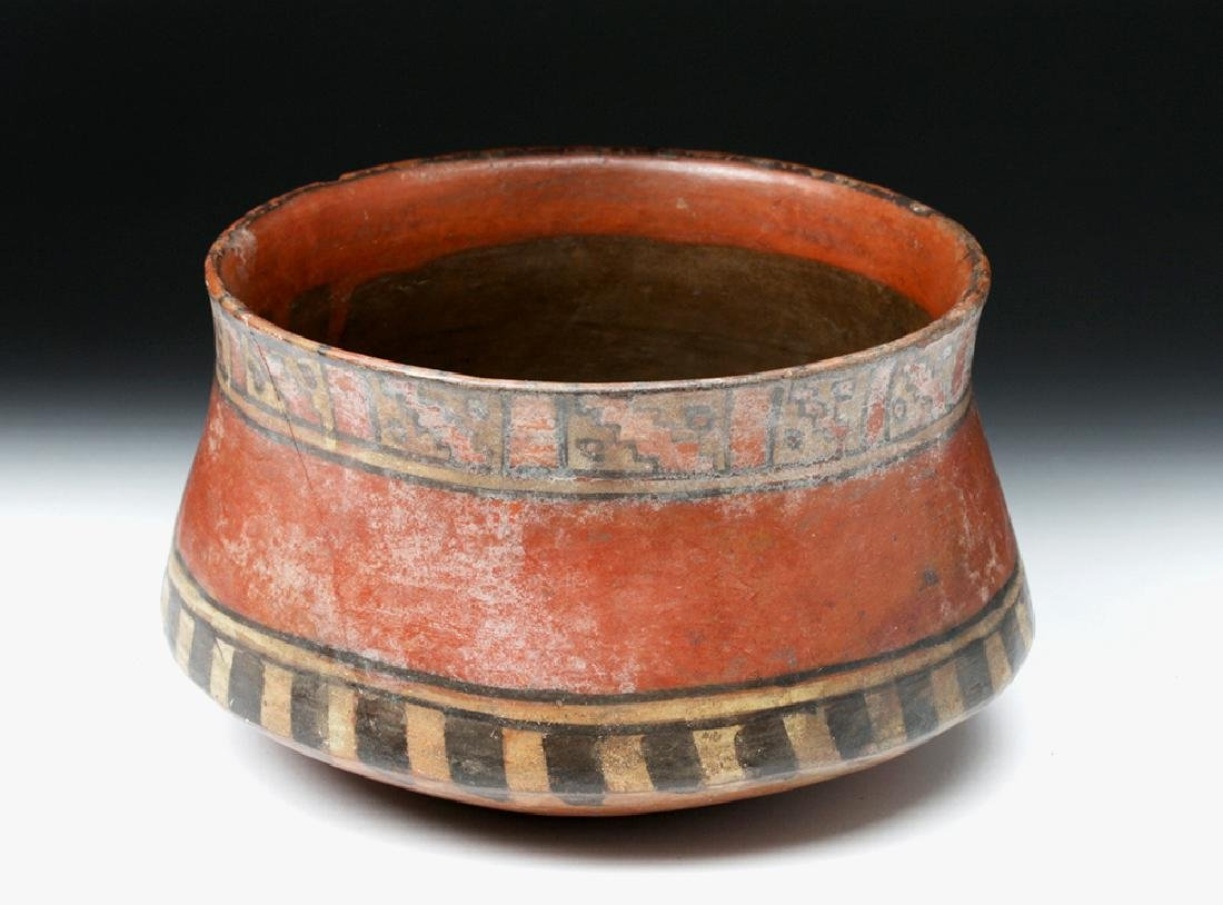 Ica Pottery Polychrome Bowl - Ex-Harmer Rook - 3