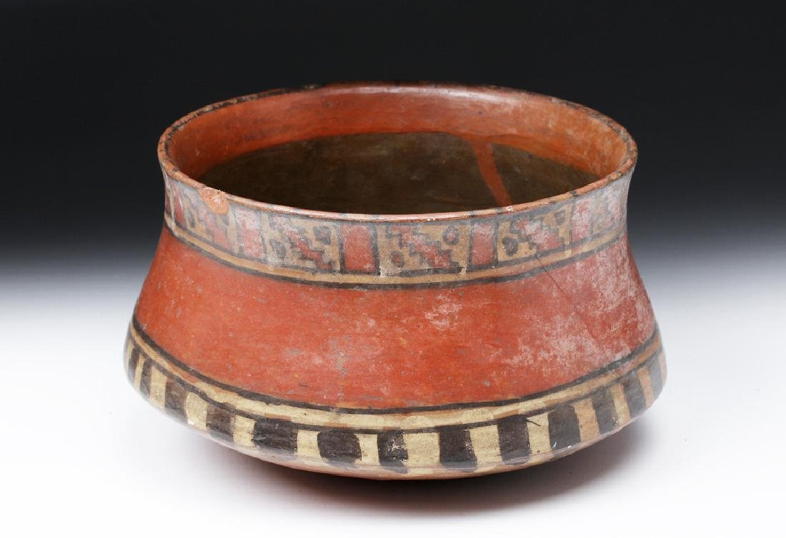 Ica Pottery Polychrome Bowl - Ex-Harmer Rook - 4