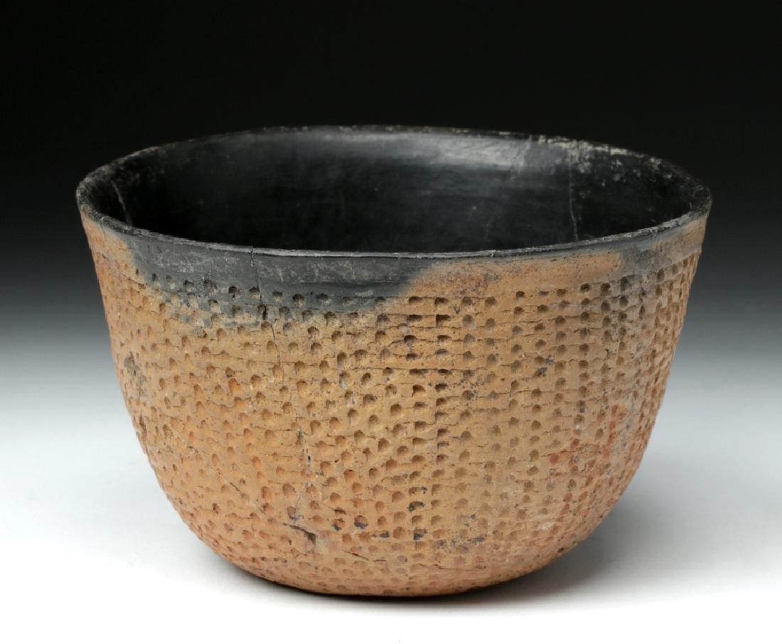 Anasazi Salado Ceramic Corrugated Bowl