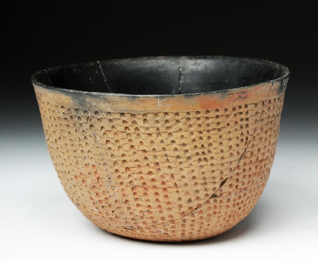 Anasazi Salado Ceramic Corrugated Bowl - 2