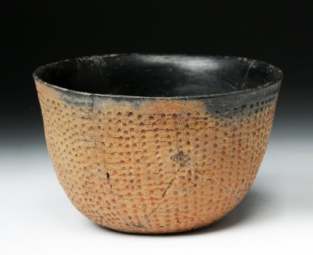 Anasazi Salado Ceramic Corrugated Bowl - 3