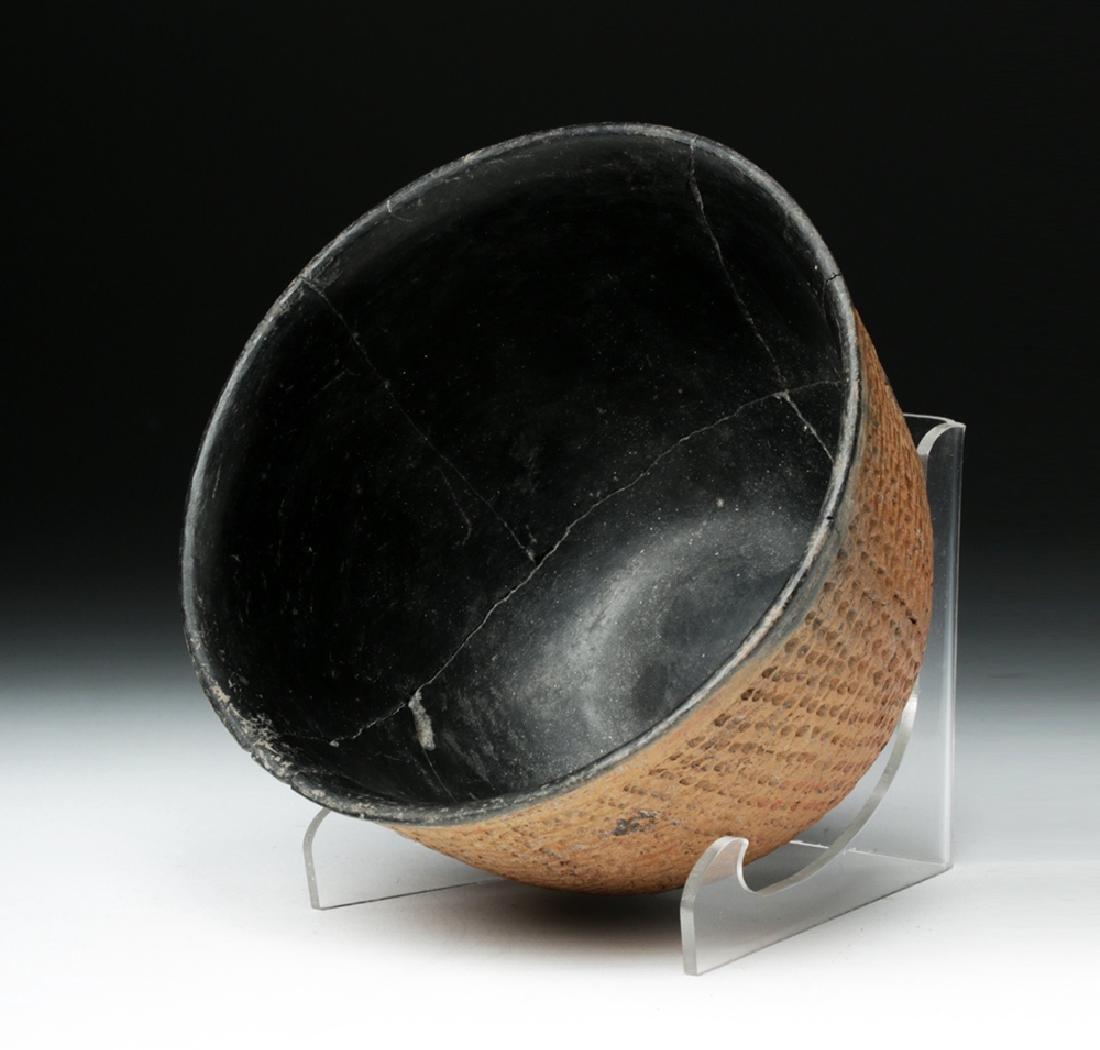 Anasazi Salado Ceramic Corrugated Bowl - 5