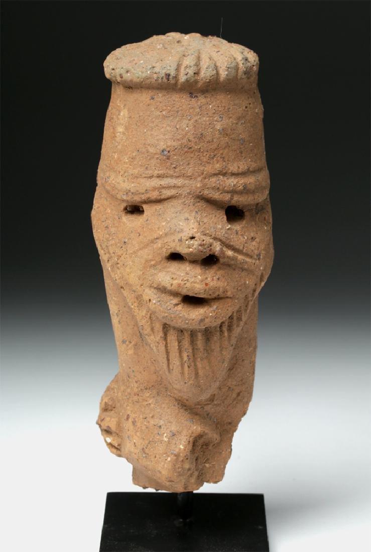 African Nok Terracotta Head - 2