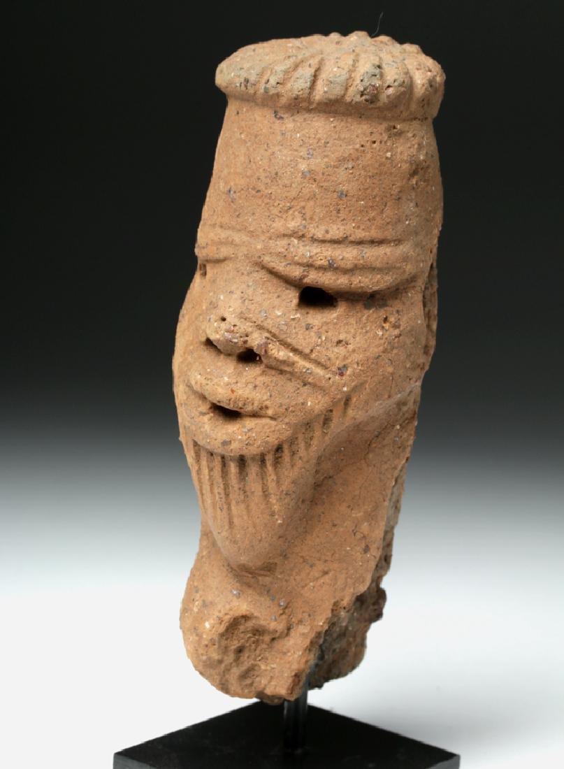 African Nok Terracotta Head - 5