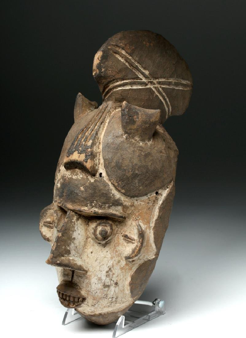 20th C. African Igbo Wooden Mask - Okoroshi Oma - 2