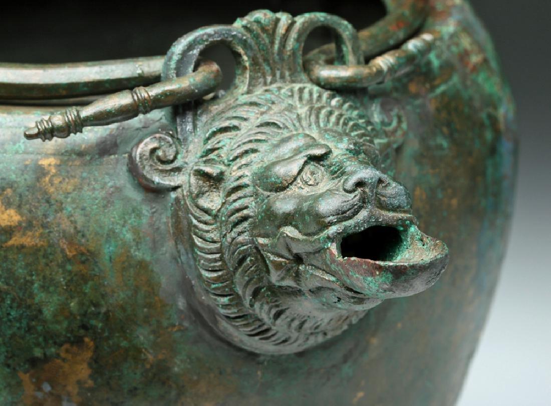 Hellenistic Greek Gilded Bronze Situla, ex-Sotheby's - 5