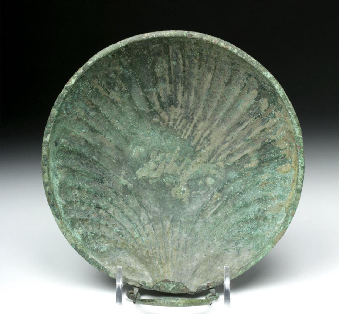 Published Roman Bronze Shell-Shaped Dish, ex-Sotheby's - 2